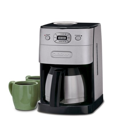 Chrome Automatic Espresso Coffee Makers - Cuisinart Grind and Brew Thermal 10-Cup Automatic Coffeemaker