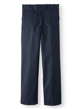 Boy's Traditional School Uniform Style Classic Pants