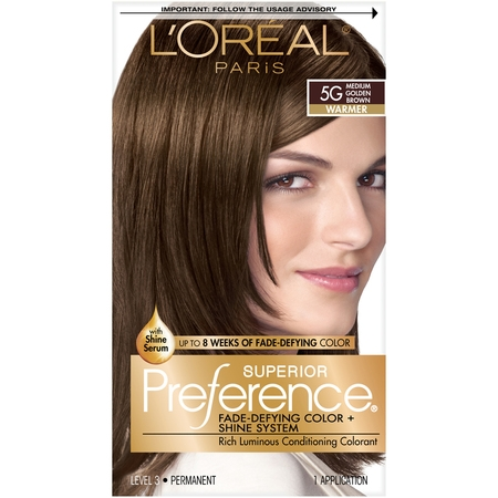 - L'Oréal Paris Superior Preference Permanent Hair Color