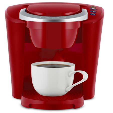 - Keurig K-Compact Single Serve Imperial Red K-Cup Coffee Maker