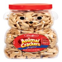 Stauffers 24 oz Bear Jug Animal Cracker