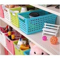 Magshion 6 Pack Stackable Storage Baskets Organizer Bins Tray Home Kitchen Closet 3 Size