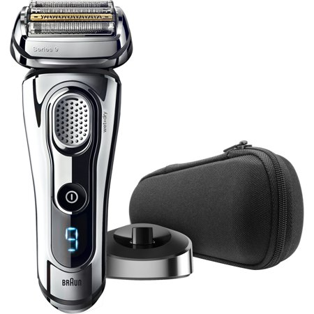 Braun Series 9 9293s ($50 Rebate Available) Men's Electric Foil Shaver, Wet and Dry Razor with Charging Stand and Travel