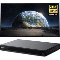 Sony 77-Inch 4K Ultra HD Smart BRAVIA OLED TV 2017 Model (XBR77A1E) with Sony 4K Ultra HD Smart Blu-Ray Player with Hi Res 2017 Model