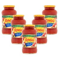 (5 Pack) Ragú Chunky Tomato, Garlic & Onion Sauce 24 oz.