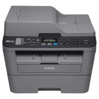 Brother Compact Monochrome All-in-One Laser Printer, MFC-L2685DW, Wireless Printing, Duplex Two-Sided Printing