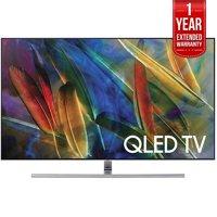 Samsung Flat 75-Inch 4K Ultra HD Smart QLED TV (QN75Q7FAMFXZA) with 1 Year Extended Warranty