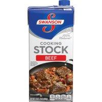 (4 Pack) SwansonBeef Stock, 32 oz. Carton