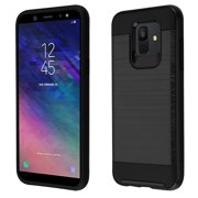 bebfef46652 Samsung Galaxy A6 (2018 Model) - Phone Case Protective Shockproof Hybrid  Rubber Rugged Cover