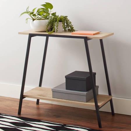 Amish Console - Mainstays Conrad Console Table, Assorted Colors