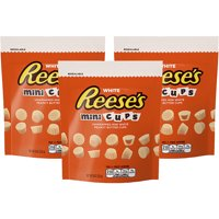 Reese's Mini Cups Peanut Butter White Chocolate Miniatures, 8 Oz.