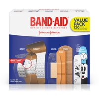 Band-Aid Brand Adhesive Bandage Variety Pack, Assorted Sizes, 120 ct