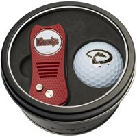 Team Golf MLB Tin Gift Set with Switchfix Divot Tool and Golf Ball