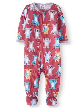 Snug Fit Footed Sleeper Pajamas (Baby Boys)