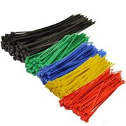 47645ecb0296 250-Piece/pack Assorted Color Nylon Cable Zip Ties Self Locking