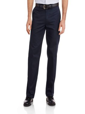 Big Men's Relaxed Fit Straight Leg Flat Front Flex Pant