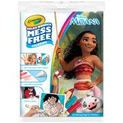 Crayola Color Wonder, Disney Moana Mess Free Coloring Book & Markers, 23 Count