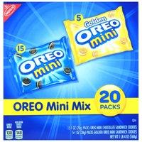 (2 Pack) Oreo Mini Mix, 20 packs