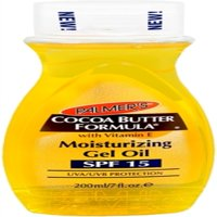 Cocoa Butter Soothing Moisturizing Gel Oil SPF 15 by Palmers for Unisex - 7 oz Moisturizer