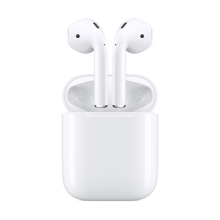 Apple AirPods with Charging Case (Latest (Two Airpots)