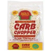 Santa Fe Tortilla Company Carb Chopper Flour Tortillas, 10 ct, 12.80 oz