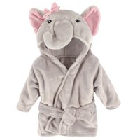 Boy and Girl Animal Plush Bathrobe - Pretty Elephant