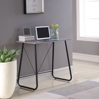 Mainstays Prizm Student Desk with Metal Legs, Multiple Colors