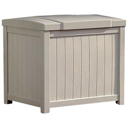 Suncast 22 Gallon Storage Deck Box, Light Taupe, SS900