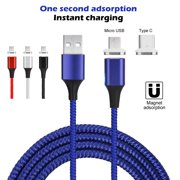 3a61a1a5f0e487 AGPtek 3.0A Magnetic Micro USB Charging Cable Fast Charger Adapter for Android  Samsung LG HTC