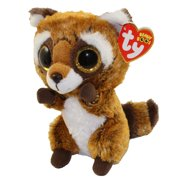 e00eab1f73a TY Beanie Boos - RUSTY the Raccoon (Glitter Eyes) (Regular Size - 6