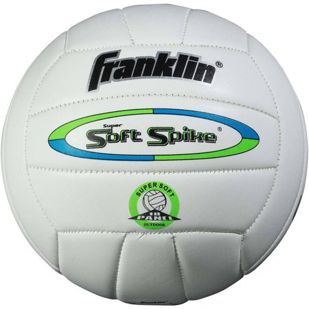 Volleyball Glitter - Franklin Sports Official Soft Spike Volleyball (Color May Vary)