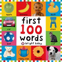 Bright Baby First 100 Words (Board Book)