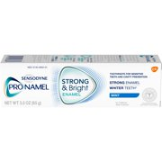 Sensodyne Pronamel Strong & Bright Mint Fluoride Toothpaste to Strengthen and Protect Enamel, 3 ounce