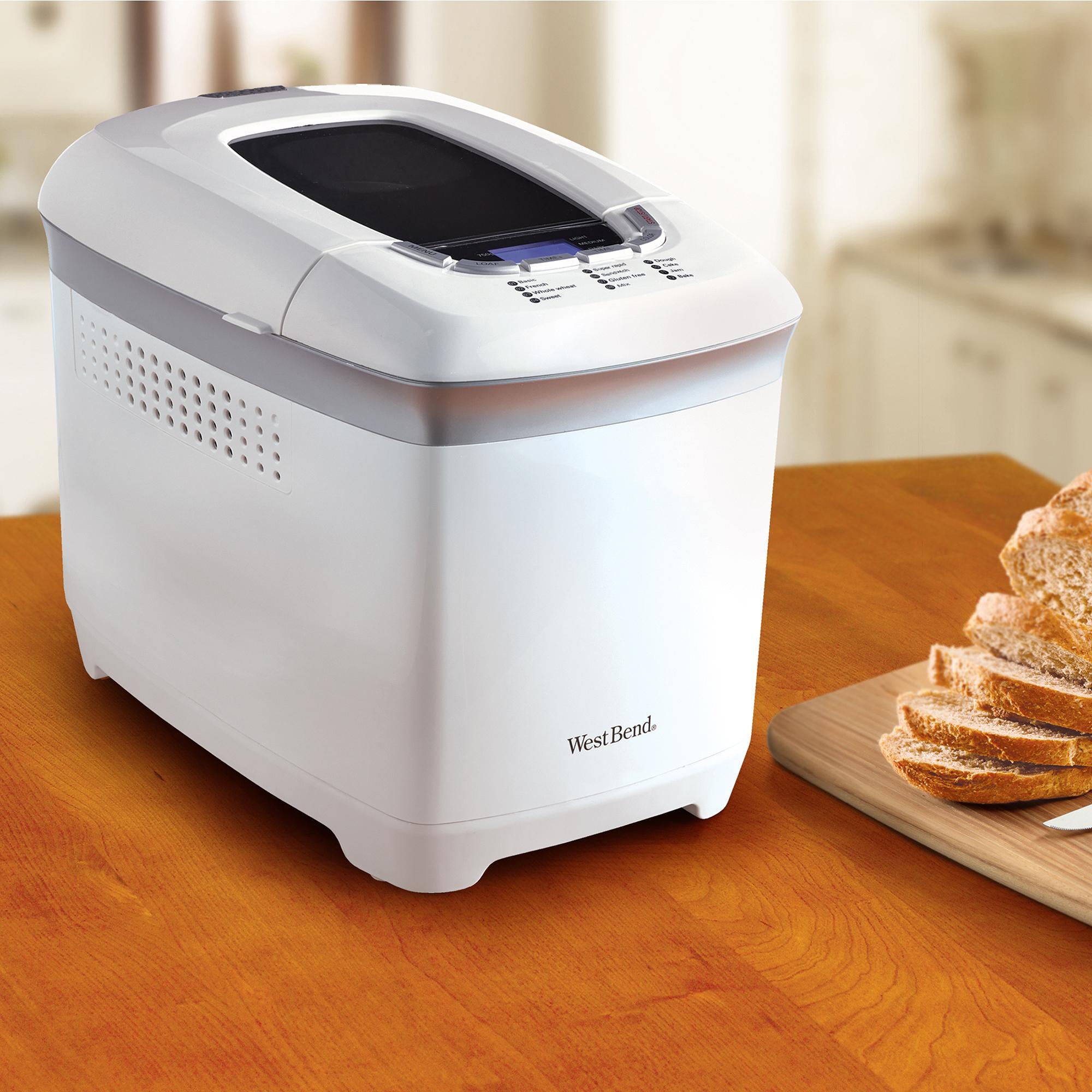 horizontal loaf bread machine