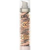 Olay CC Cream Total Effects Tone Correcting Facial Moisturizer with Sunscreen, Medium to Deep