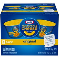 Kraft Easy Mac Original Flavor Macaroni and Cheese Dinner Cups, 16.4 oz