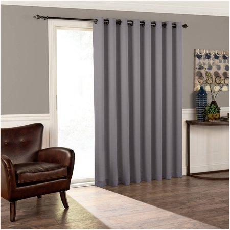 Eclipse Thermal Blackout Tricia Patio Door Window Curtain Panel