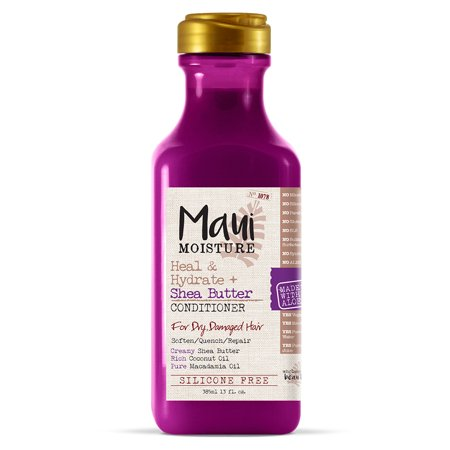Maui Moisture Heal & Hydrate + Shea Butter Conditioner , 13 Fl (Hempz Hydrating Conditioner)