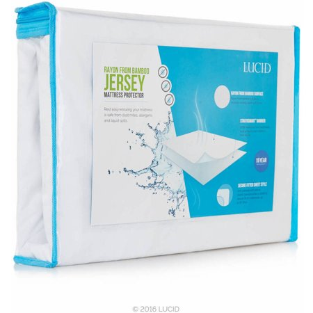 - Lucid Rayon from Bamboo Jersey Waterproof Mattress Protector