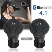 Mini Wireless Earbuds, 1-set Bluetooth Earphone Smallest Wireless Invisible Headset Headphone with Mic Hands-free Calling for iPhone Samsung and Android Smart Phones