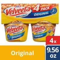 Velveeta Original Shells & Cheese 4 - 2.39 oz Sleeve