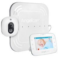"""Angelcare AC315 Breathing Monitor for Babies with 4.3"""" Touch Control Display and Wired Sensor Pad"""