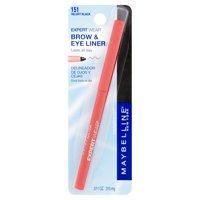Maybelline Expert Wear Brow & Eyeliner Pencil, Dark Brown