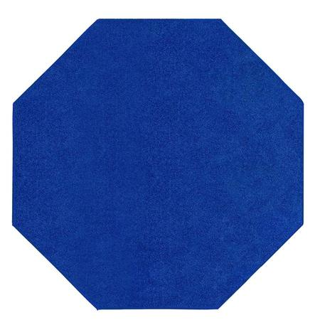 Home Queen Kids Favourite Area Rugs Neon Blue - 3' Octagon (Elegance Octagon Rug)