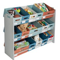 Honey Can Do Kid's Toy Storage and Sorter, Multiple Colors