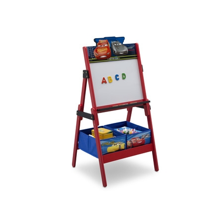Disney Pixar Cars Activity Easel with Storage by Delta (Freestanding Easel)