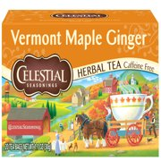 Celestial Seasonings Herbal Tea, Vermont Maple Ginger, 20 Count