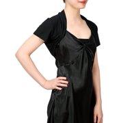 4988b60e7d954 HDE Short Sleeve Bolero Jacket Shrug for Women S-4X Open Front Light  Layering (