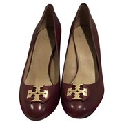b8ab30a3acb0 New Tory Burch Women s Janey 50 mm Pump Calf Leather Red Agate (US  7