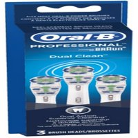 Oral-B Dual Clean Replacement Brushheads 3 ea (Pack of 3)